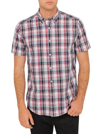 Ss Plaid Shirt