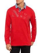 Logn Sleeve Rugby Top $64.97