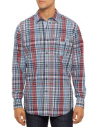 Long Sleeve Plaid Shirt $49.00