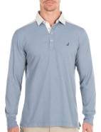 Long Sleeve Pieced Polo $48.96 - $62.96
