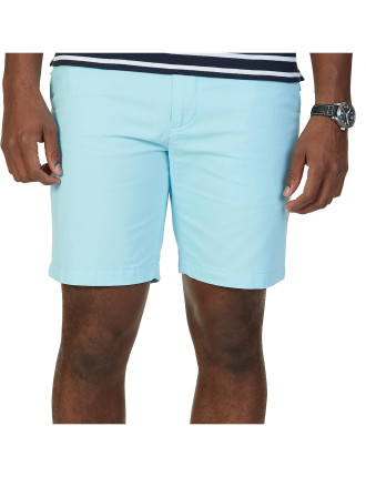 Cotton Twill Flat Front Short