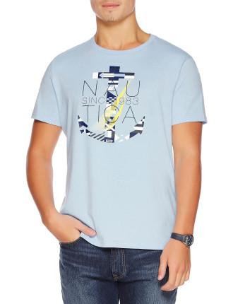 Nautica Flag Anchor Tee