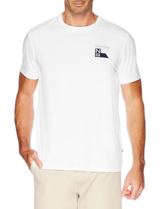 Nautica Back Logo Tee
