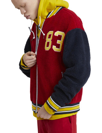 Lil' Yachty Collection Sherpa Bomber Jacket