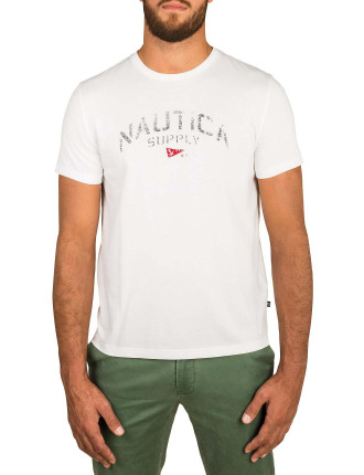 Short Sleeve Nautica Supply Tee