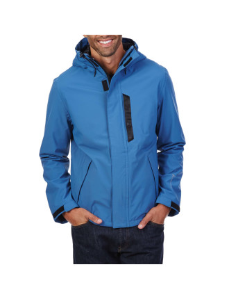 Hooded Rainbreaker Jacket