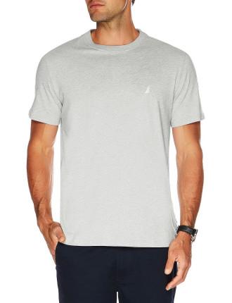 Short Sleeve Solid Logo Tee