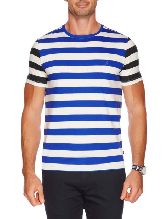 Short Sleeve Stripe Tee