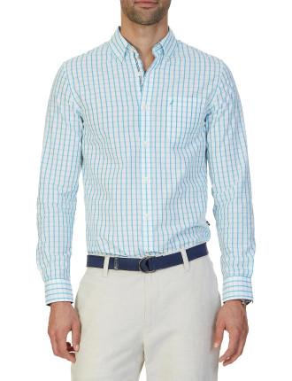 Long Sleeve Tattersal Shirt