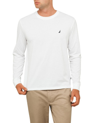 Long Sleeve Basic Logo Tee