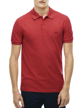 SLIM FIT SLUB PIQUE POLO