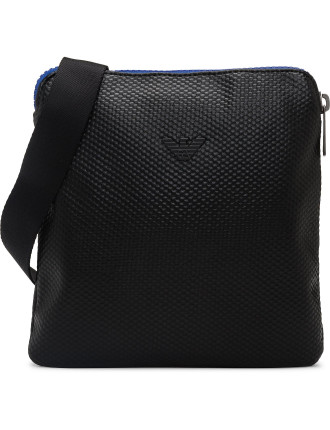 SMALL CROSS OVER TEXTURED BAG