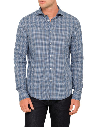 MULTI GINGHAM CHECK SHIRT