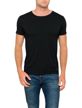 Troy crew-neck basic cotton tee