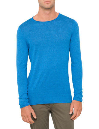 Long sleeve lightweight knit