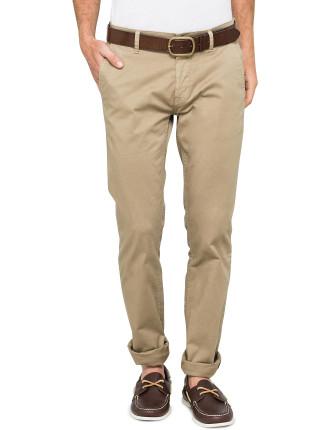Schino Slim-fit basic cotton chino pant