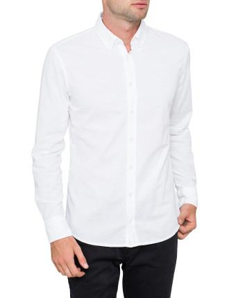 E Preppy Oxford button down L/S Shirt