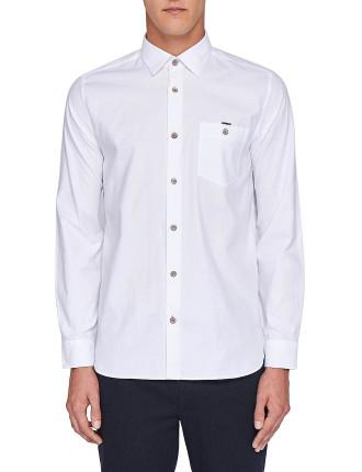 Ls textured shirt