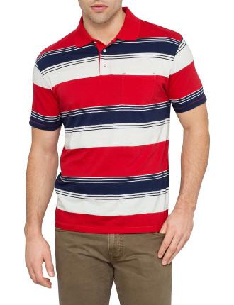 R. Awning Stripe Polo