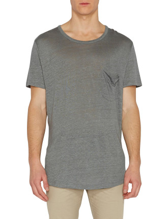 Joey Linen Pocket Tee
