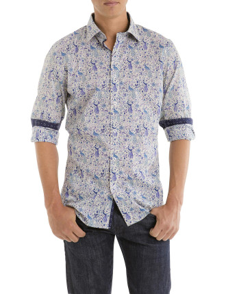 Liberty 'Junos Garden' Print Shirt
