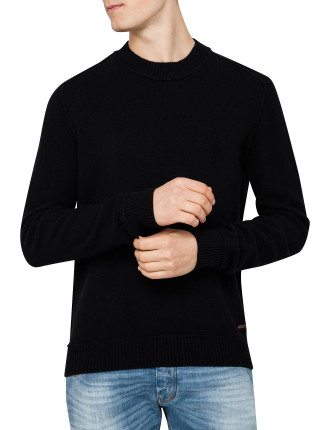 Crew Neck Lambswool Sweater