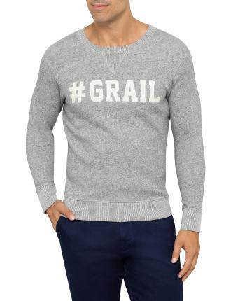 R. #Grail Sweater