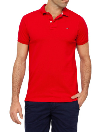 Short Sleeve Pilot Flag Polo