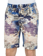 Allover Printed Hawaii Flower Short $129.95