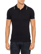 Piquet Stretch Contrast Trim Polo $119.00