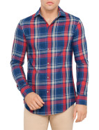 Long Sleeve Flannel Plaid Shirt $269.00