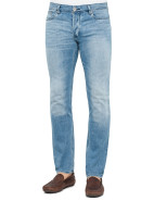 Light Wash Comfort Stretch Jean $219.00