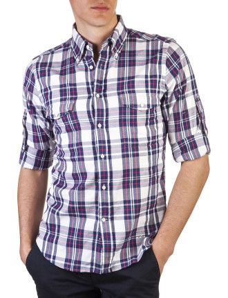 R. Windblown Oxford Pink Thru Hobd Shirt
