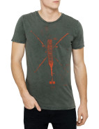 Short Sleeve Tenney 3 Helicopter Print Tee $119.00