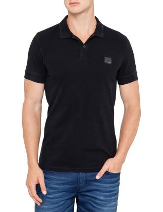 Short Sleeve Pascha Logo Polo