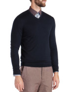 Long Sleeve V-Neck Jumper $189.95
