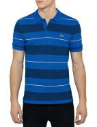 Short Sleeve Mix Stripe Polo $149.00