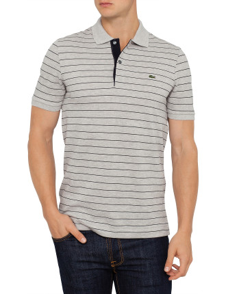 Short Sleeve Regular Stripe Polo