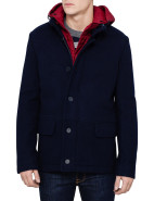 Puffer Lined Wool Coat $679.00