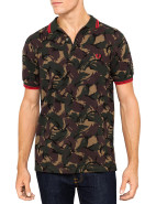 Short Sleeve Camo On The Run Polo $140.00
