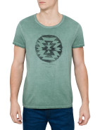 Short Sleeve Aztec Circle Print Tee $69.95