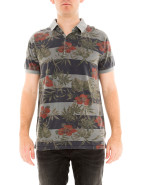 Short Sleeve Floral Print Polo $99.95