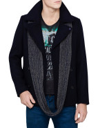 Classic Caban With Snood Coat $389.95