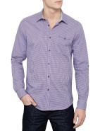 Long Sleeve Checked Shirt $189.95