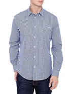 Long Sleeve Regular Fit Small Check Shirt $159.00