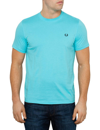 Short Sleeve Plain Crew Neck Tee