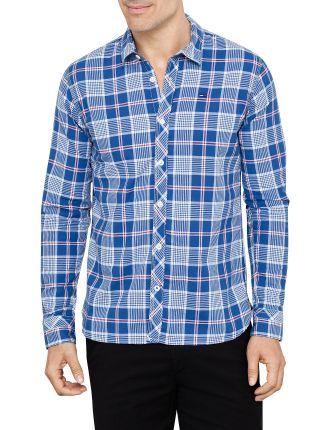 Long Sleeve Sorbet Check Shirt