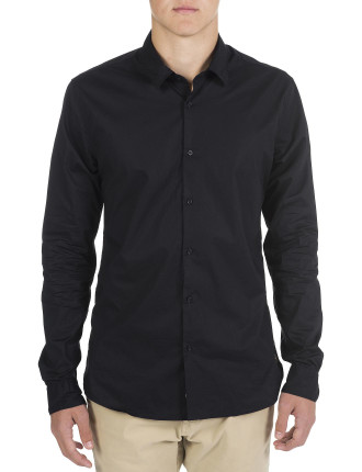 Classic Crispy Cotton Stretch Shirt