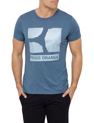 Tedros 1 Boss Orange Logo T-Shirt