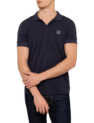 Pascha Short Sleeve Logo Polo